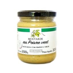 Mostarda Beaufor Poivre Vert 200G