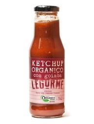 Ketchup Orgânico Com Goiaba Legurme 330g