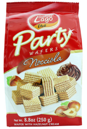 Mini Wafers Italiana  Party Avelã Chocolate Gastone Lago 250g