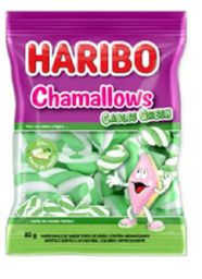 Chamallows Cables Green Haribo 80G