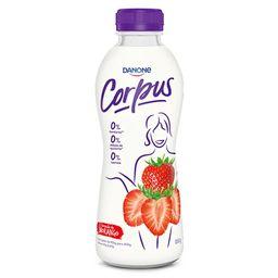 Iogurte Líquido Sem Lactosat Morango Corpus 850g