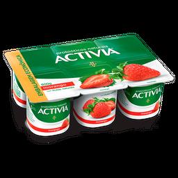 Iogurte Probióticos Activia Polpa de Morango 600g