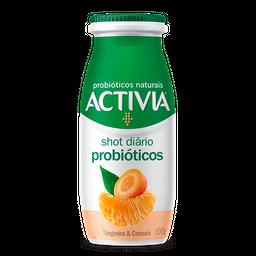 Leite Fermentado Activia Shot Probióticos Tangerina/Cenoura 100g