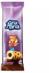 Bolo Ana Maria Gotas De Chocolate Pullman 35g