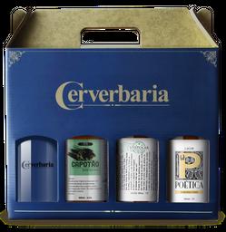Kit Cerverbaria 3 Gfa + 1 Copo