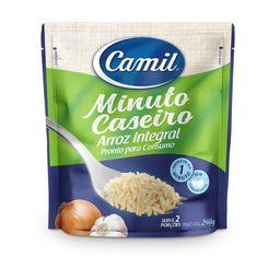 Arroz Integral Minuto Caseiro Camil 240g
