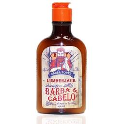 Shampoo Barba Forte Barba Cabelo Lumberjack 170ml