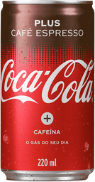 Coca-Cola Plus café Espresso 220mL