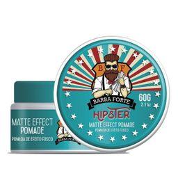 Gel Modelador P/Cabelo Barba Forte Hipster 200g