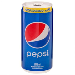 Refrigerante Pepsi Cola Lt 269Ml