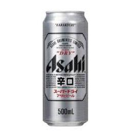 Cerveja Japonesa Asahi Super Dry Lt 500ml