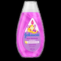Shampoo Johnson's Força Vitaminada 200mL