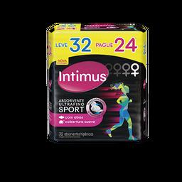Absorvente INTIMUS Sports Suave c/Abas Ultrafino - 32 unidades