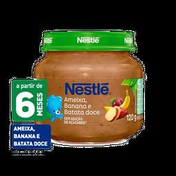 Papinha NESTLÉ ameixa, batata doce e banana - 120g