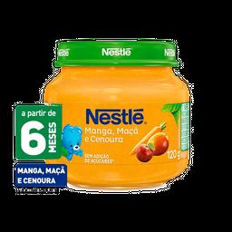 Papinha NESTLÉ manga, maça e cenoura - 120g