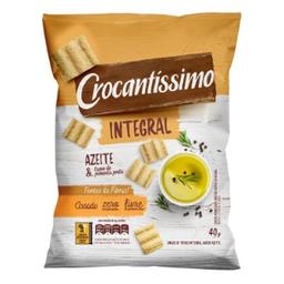 Crocantíssimo Snack Crocante Azeite e Pimenta Integral