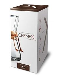 Passador Cafe Chemex Alça Madeira 3 Xicaras