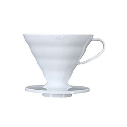 Suporte Filtro Cafe Hario V60-02 Branco