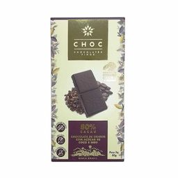 Chocolate Com Nibs De Cacau 80% Choc 80G