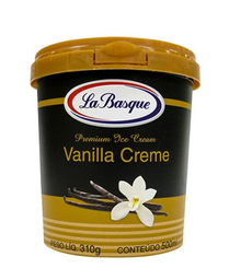 Sorvete Vanilla Creme La Basque 500ml