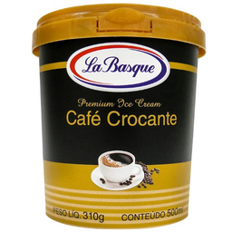 Sorvete Café Crocante La Basque 500ml