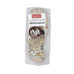 Salsicha Branca Com Salsa Weisswurst Berna 300g