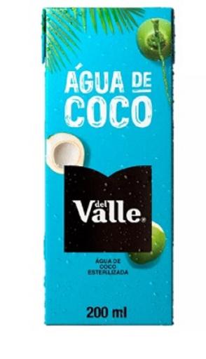 Água De Coco Natural Del Valle 200ml