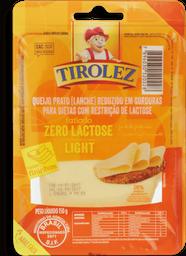 Queijo Prato Light Ft Zero Lactose Tirolez 150g G