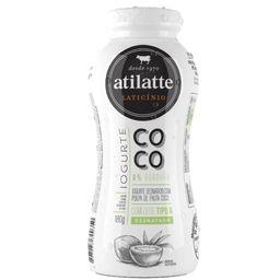 Iogurte Líquido Desnatado Coco Atilatte 180g