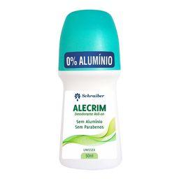 Desodorante S/Perf E S/Aluminio Schraiber 50Ml