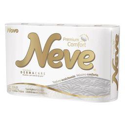 Papel Higiênico Premium Neve Folha Tripla Comfort Com 18