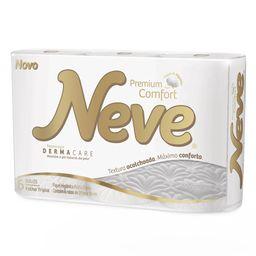 Papel Higiênico Premium Neve Folha Tripla Comfort Com 6