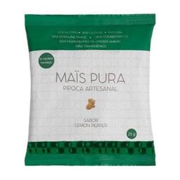 Pipoca Artesanal Sabor Lemon Pepper Mais Pura 25G