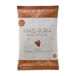 Pipoca Artesanal Sabor Caramelo E Flor De Sal Mais