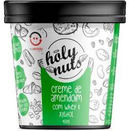 Creme De Amendoim Com Whey E Xylitol Holy Nuts 450