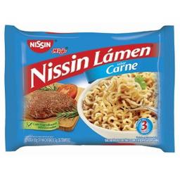 Macarrão Instantaneo Carne Nissin 80g