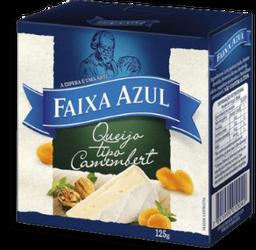 Queijo Camembert Fracionado Faixa Azul Importado 125g
