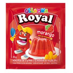 Gelatina Morango Royal 25g