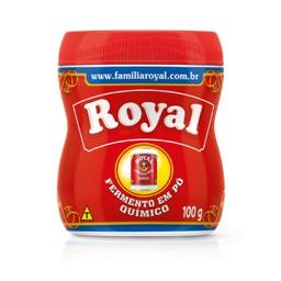 Fermento Em Em Pó Royal 100g