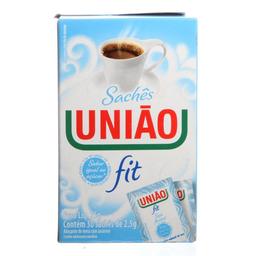 Açúcar Refinado Sache Fit Uniao 75g