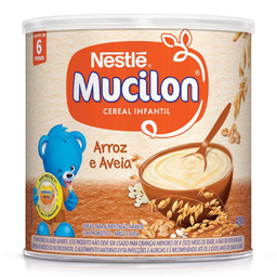 Cereal Arroz & Aveia Nestle Mucilon 400g