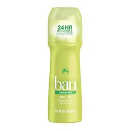 Desodorante Roll On Sem Perfume Ban 103Ml