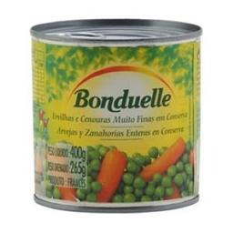 Ervilha Com Cenoura Fces Ext Fina Bonduelle 265g