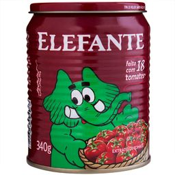 Extrato Tomate Elefante 340g