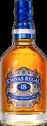 Whisky Escocês Chivas Regal 18 Yo 750ml