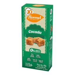 Cocada Zero Flormel Com 3 75g