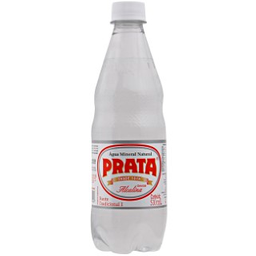 Água Mineral Com Gás Prata 510ml