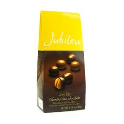 Chocolate Avelas Cob Com Chocolate Ao Leite Jubileu 180g