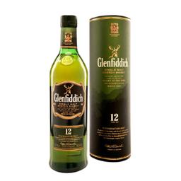 Whisky Escocês Glenfiddich Single Malt 12 Yo 750ml