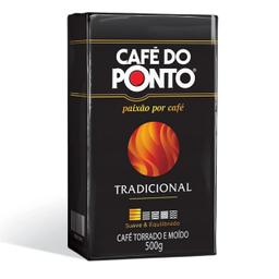 Café Vacuo Do Ponto Tradicional 500g